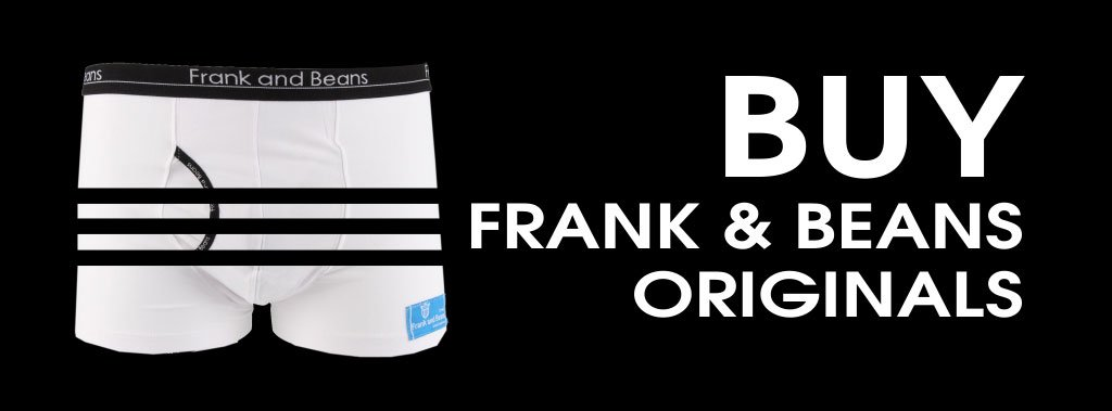 Frank and Beans Originals Underwear Banner
