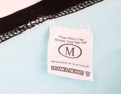 Tear away tag